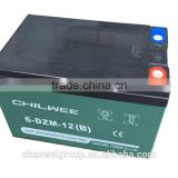 CHILWEE 6-DZM-12 B Silicone gel battery for electric scooters and electric medical devices