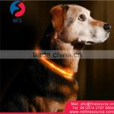 New Innovation High Quality Waterproof Rechargeable Pet LED Dog Collar