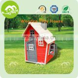 Top sale! wooden outdoor playhouse, kids play tent house