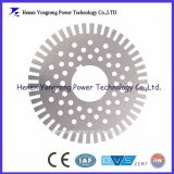 High efficiency motor rotor stamped core lamination