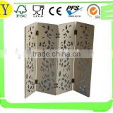 unfinished decorative wooden craft the chinese screen