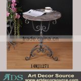 Antique decorative wooden coffee table