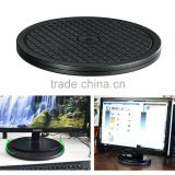 "10"" Diameter Heavy Duty 360 Degree Rotation Swivel Stand with Steel Ball Bearings for Big Screen Tv/monitor/turntable/lazy Susan"