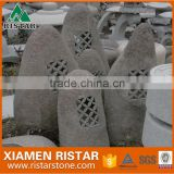 Japanese style garden outdoor lantern granite natural stone lantern