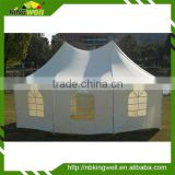 6X4m large octagon party canopy with panels