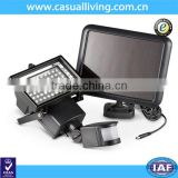 10W 60LEDs Solar Power Motion Sensor Light Human Body Induction Security Emergency Lamp