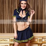Sexy women Lingerie stylish air-hostess outfit cosplay costume set