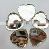 crystal apparent heart flat back crystal stone glass beads for jewelry making