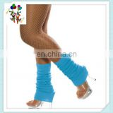 Adult Sized Stretchy Neon Blue Leg Warmers HPC-2482