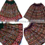 Vintage Banjara Belly Dance Skirt Old Sari Skirt