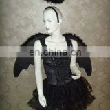 XDA11405 Adult Black Angel Costume