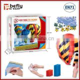 Wholesale kids Hot-air balloon paper 3D jigsaw puzzle