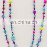 Glass Bead Costume Necklace