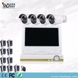 4chs 1.3/2.0MP WiFi NVR System with 10.1 Inch LCD Screen From Wardmay Professional CCTV Manufacturer