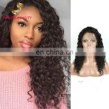 Youth Beauty Hair top quality brazilian virgin remy hair unprocessed raw hair lace front wig in natural curl wholesale price
