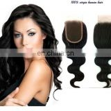 alibaba wholesale price 100% chinese remy human hair weaving extension lace closures natural hairline hair piece