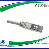 FTP Cat.5e Patch cord plain molded Grey Color