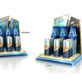 Customized high-end beverage plastic countertop display