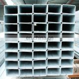 galvanized rectangular steel pipe price