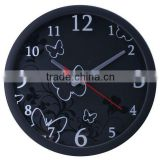 aluminum material decorative wall clock
