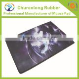 Large Gaming Mouse Mat, lightweight, Low friction fibre surface, Stitched edging, non-slip grip base