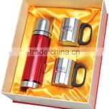 2015 New Design Promotion Gift Item, Mlife manufactured Eco Unique Group Stainless Steel Bottle gift sets