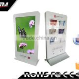 "Custom industrial panel Digital Signage 42"" 46"" 55"" 65"" Inch Floor Stand Lcd Advertising Screen"