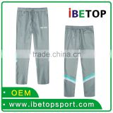 Soft and Breathable 95 Cotton 5 Spandex Custom Wholesale Blank Sports Clothing Trousers Pants