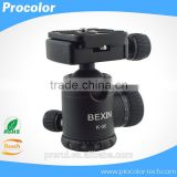 "Tripod monopod Heads Mini Ballhead 360 Degree Rotating camera mount Ball Head with 1/4"" Mount and Thread For Digital Camera"