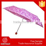 promoting premium small size manual pocket fold umbrella