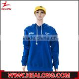 bulk order no brand name own logo sublimation women wear plain royal blue hoodie