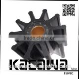 Nikkiso pump rubber impeller for Isuzu marine engine use