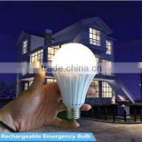 220v rechargeable emergency led light bulb e27 b22 7w for home use