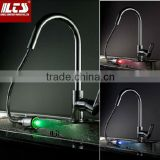 3 Colors Discoloration LED Light Temperature Control Sensor, Temperature Sensitive LED Light Water Faucet