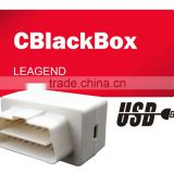 OBD2 Newest USB Diagnostic Recorder via USB Cable for Car SUV and Light Truck Model CBLACKBOX-COMPUTER