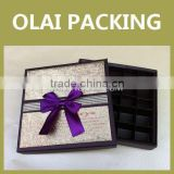 cheap professional design chocolate box wholesale