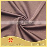 High quality latin dance dress fabric /warp knitted semigloss polyester microfiber fabric for swimwear