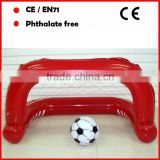 Inflatable Portable Soccer Goal and football beach ball set