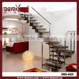 cast iron staircase and rubber tread stair handrail end cap