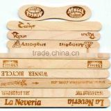 114*10*2mm bundle sale wooden custom popsicle sticks