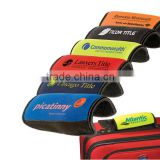 Customized Top Quality Logo Printed Neoprene Luggage Handle Pad