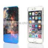 Transparent blue light case for iphone 5/6/6plus cover personalized