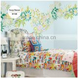 sale printing special effect wall paper, lovely animal wall sticker for kids room , import wall mural maker