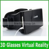 VR headset 3D Google Glass VR 3D Plastic Edition Head Mount Virtual Reality 3D Glasses Active Oculus Rift Google Cardboard