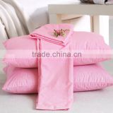 China manufacturer wholesale cheap custom logo brand 100% cotton comfort towel pillow case