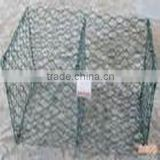 120 x 150 Mesh Size Heavy Duty Hexagonal Mesh Machine Gabion Wire Baskets , 4300mm Width