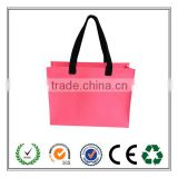China Factory lowest prie and high quality felt shopping bag