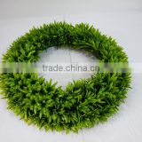 artificial boxwood wreath green plant werath