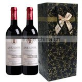 Professional costom innovative paper wine bag,Wholesale wine paper bags,shopping wine bottle paper bag