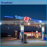 Wholesales New Outdoor Stand Equipment Gas Station Fuel Price Signs, Canopy Fascia Green Gas Station Sign                                                                         Quality Choice